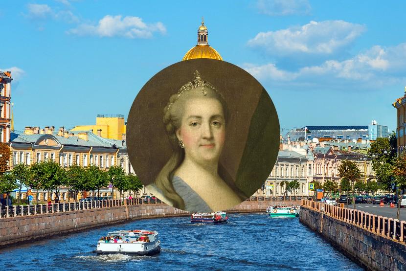 Katarína Veľká, Petrohrad, Rusko