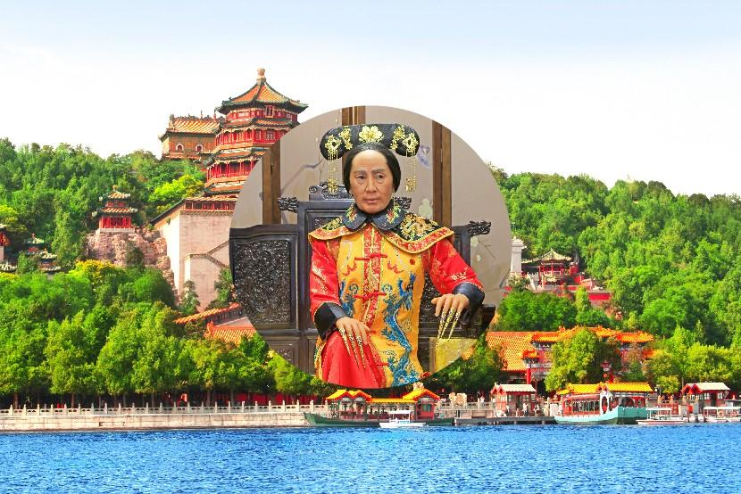 Cisárovná Cixi, Peking, Čína