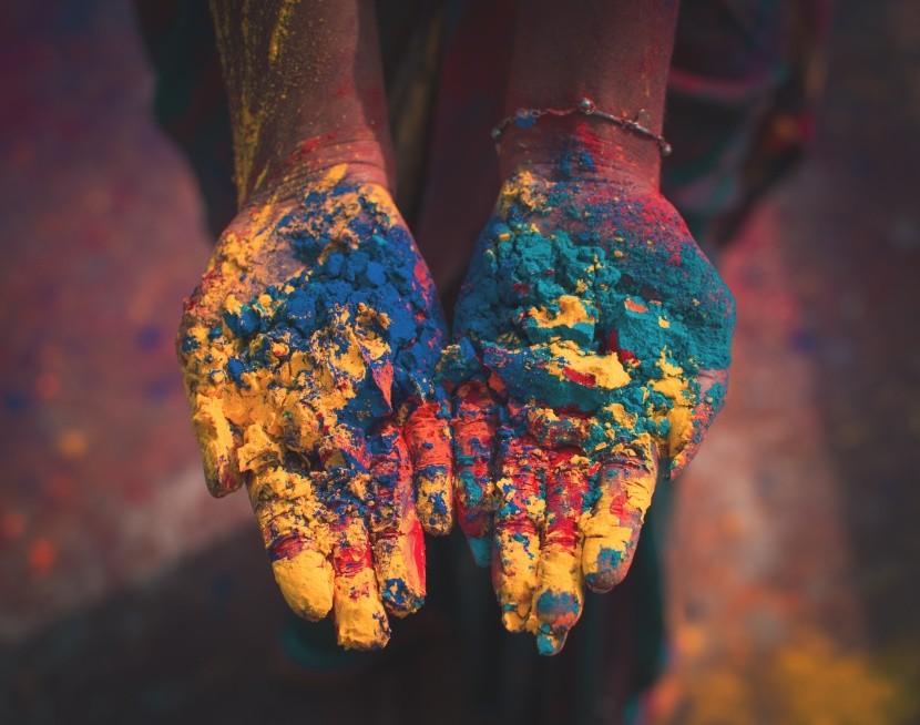 Oslava farieb Holi sa oslavuje po celom svete