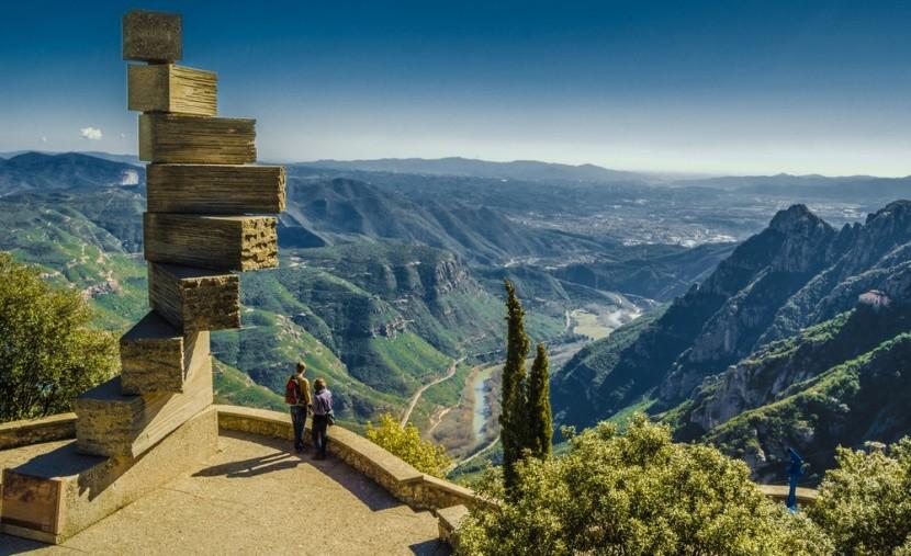 Schody do neba, Montserrat, Katalánsko