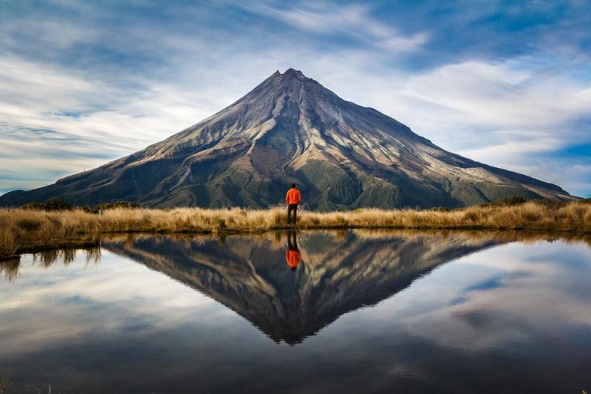 Dychberúce hory na Novom Zélande