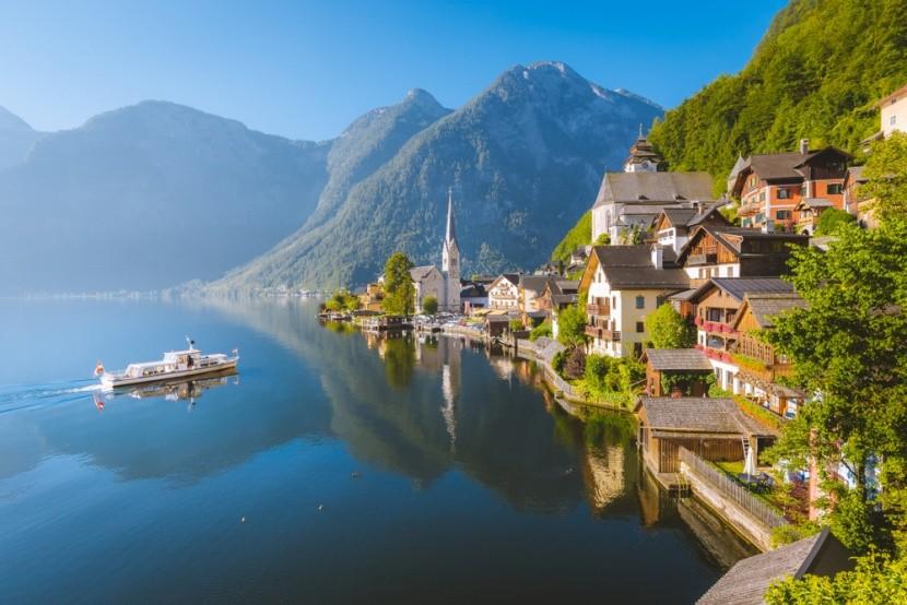 Jazerá a hory v Rakúsku