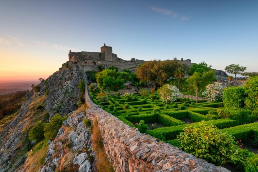 Malebné stredoveké mestečká a hrady v Alentej