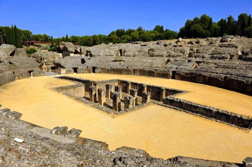 Ruiny Itálica alias Dračia jaskyňa