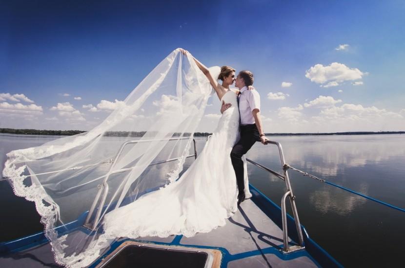 Svadba na lodi je krásnym zážitkom