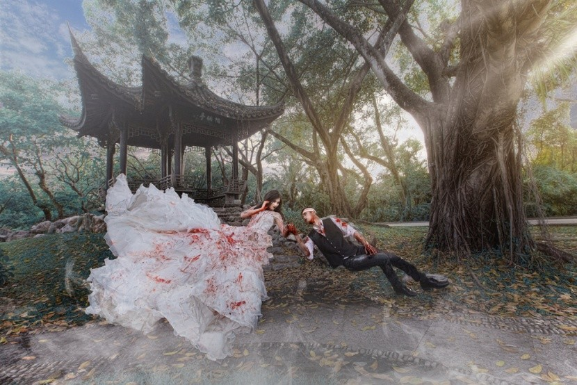 Chceli by ste strašidelnú či netradičnú svadb