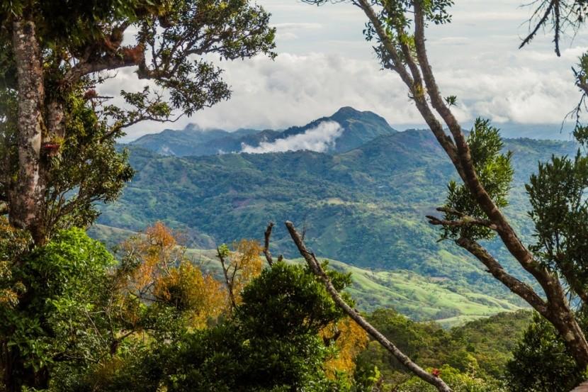 Sopka Barú a hmlový prales, Panama