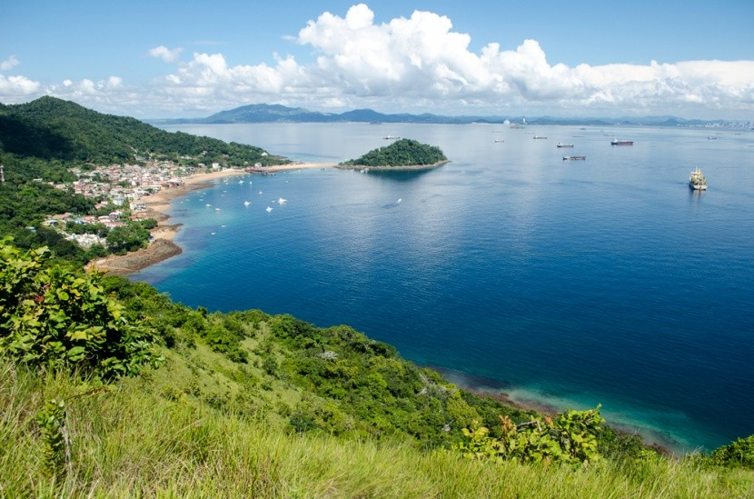 Ostrov Taboga, obľúbené výletné miesto, Panam