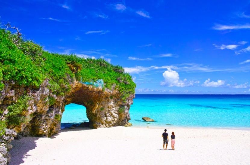 Na japonskom ostrove Miyako sú božské pláže