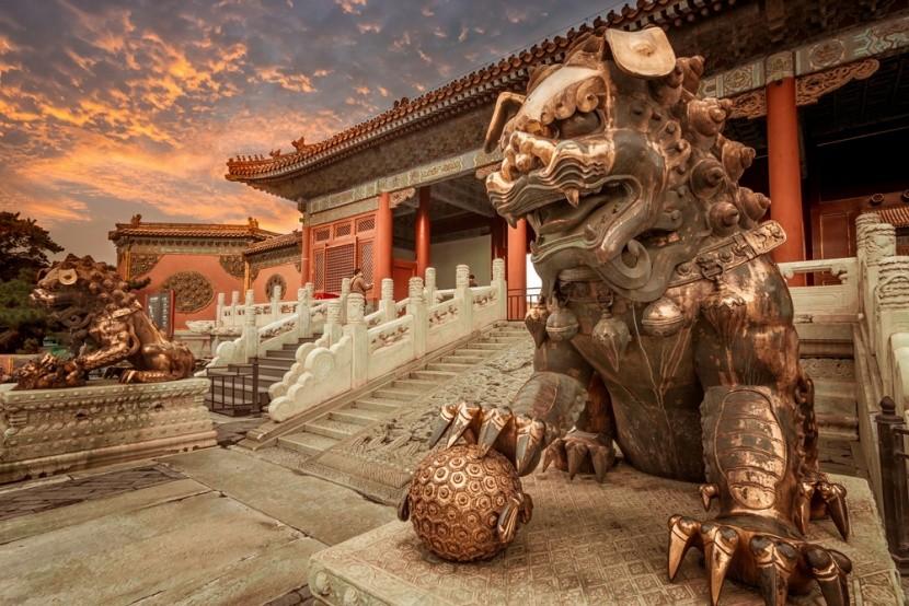 Zakázané mesto v Pekingu, Čína