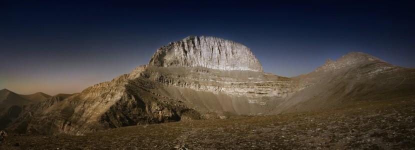 Na hore Olymp je bájne sídlo gréckych bohov