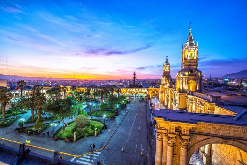 Koloniálne mesto Arequipa