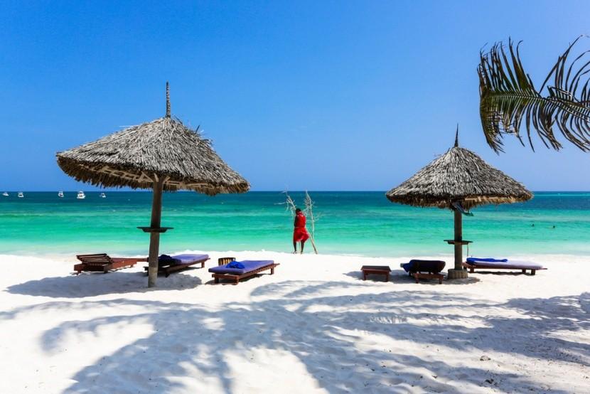 Pláž Watamu v Keni