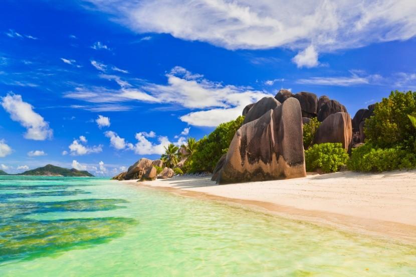 Pláž Anse Source d'Argent, ostrov La Digue