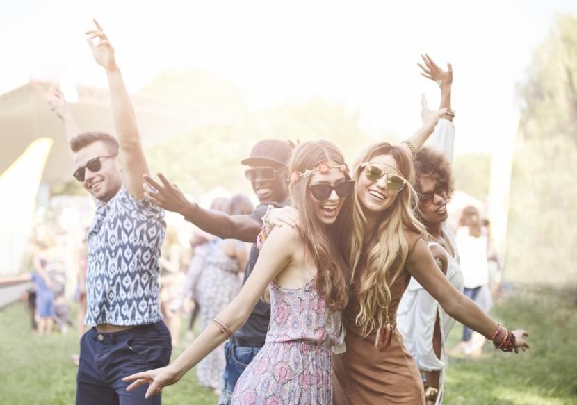 Letná festivalová atmosféra