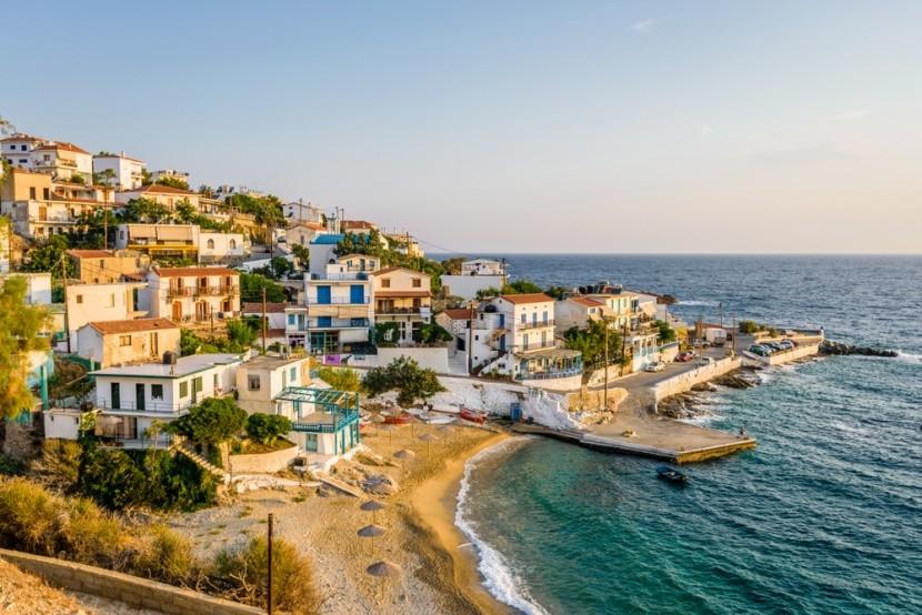 Malebná Ikaria v Grécku