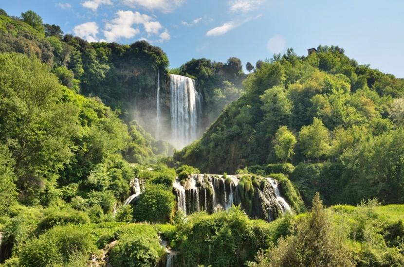 Mramorové vodopády, Taliansko