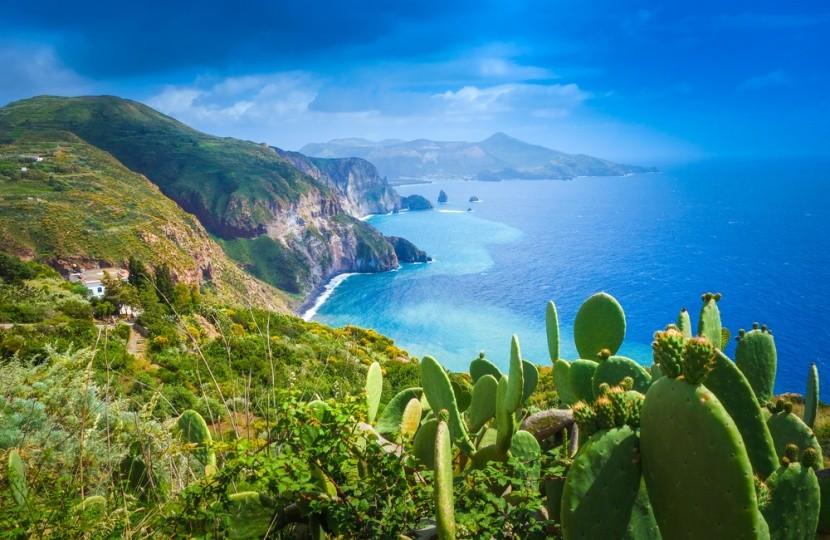 Vulkanické Liparské ostrovy
