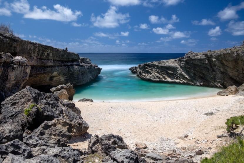 Pláž Bouteille, ostrov Rodrigues