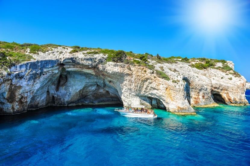 Modrá jaskyňa, Zakynthos