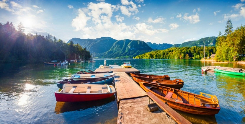 Najkrajšie jazerá Európy