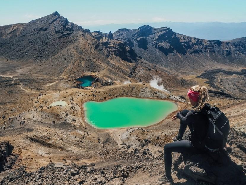 Sopečné jazerá, Nový Zéland