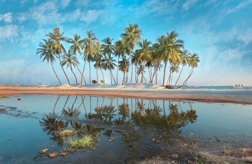 Salah Beach, ománsky Karibik