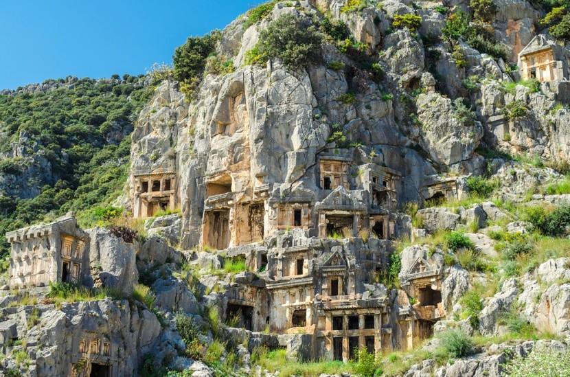 Mágia tureckého mesta Myra