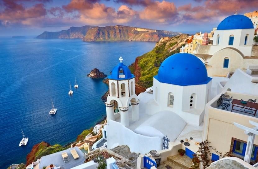 Grécky ostrov Santorini