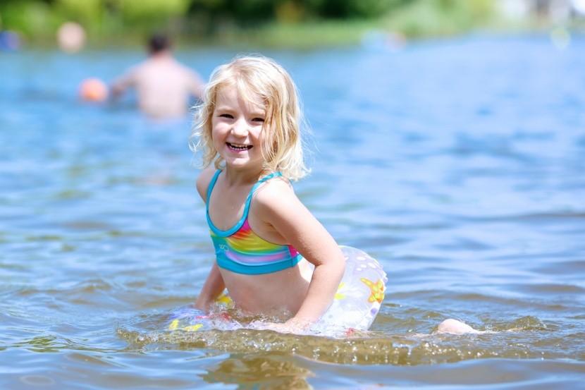 letný kútik rodinných radostí